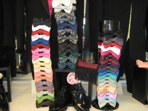 rose tuxedo bow tie rentals