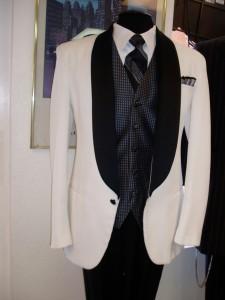 Prom Tuxedo White Tuxedo