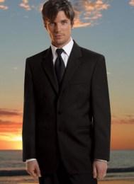 2 button black Suit Style 668