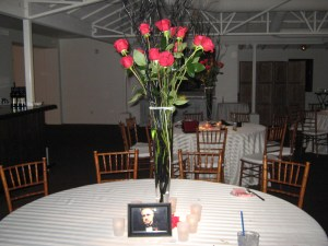 Wedding Flowers for the tables