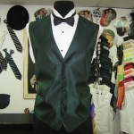Will work with any bridal shop to match this vest or any.