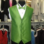 Rose Tuxedo full back vest.