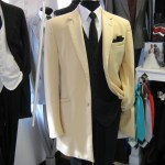 Yellow Tuxedo jacket