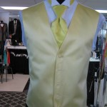 Buttercup Vest for weddings and prom and quince