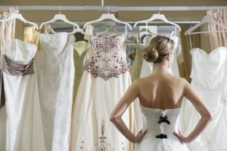 Gently used wedding dresses