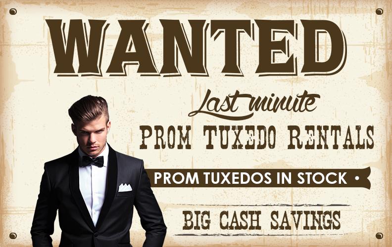 last minute prom tuxedo- Rose Tuxedo