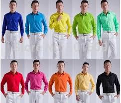 tuxedo shirts colored