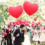 Valentine day wedding