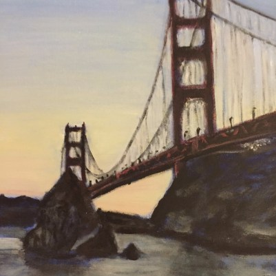 The Golden Gate from Sausalito