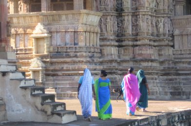 Khajuraho en la India y nuestras aventuras por este país