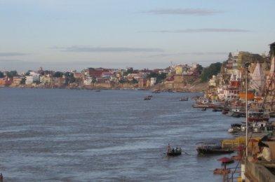 Varanasi en la India del Norte
