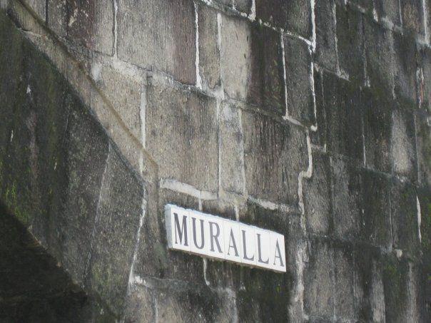 Intramuros, Manila. Filipinas.
