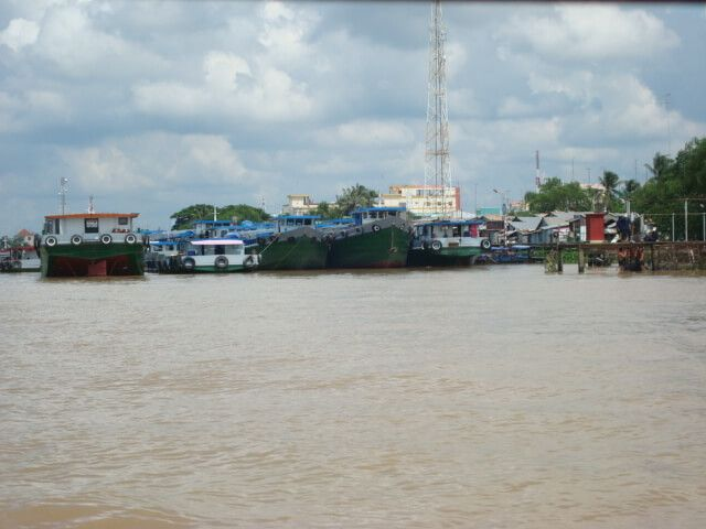 A remontar el Mekong.
