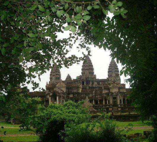 Niños en Angkor