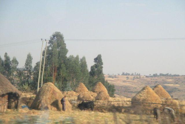Las cataratas del Nilo Azul. Etiopía, África.