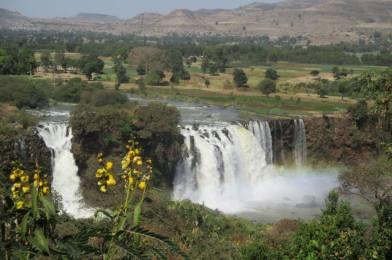 Las Cataratas del Nilo Azul, Etiopía.