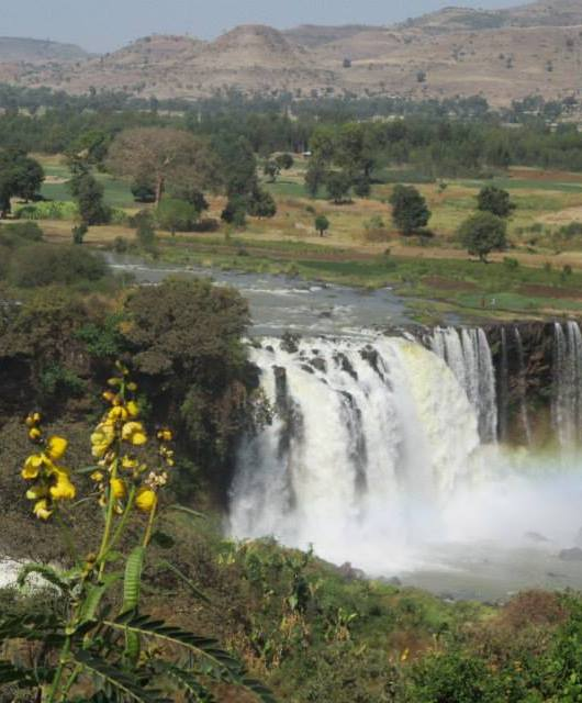 cataratas nilo azul. etiopia