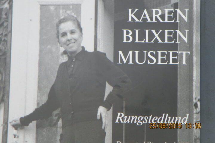 Casa de Karen Blixen, museo de la casa natal. Rungsten, Dinamarca.