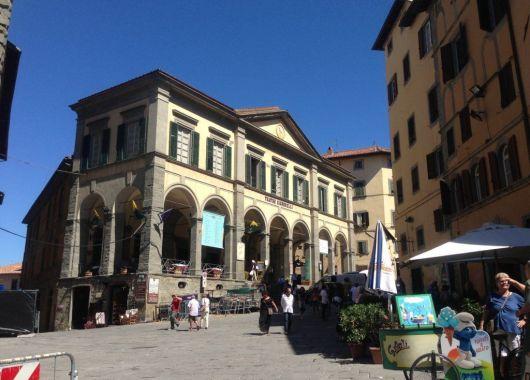 Cortona, uno de los lugares donde se rodó La Vida es Bella.