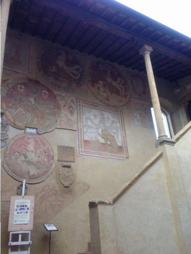 Certaldo, Palacio Prettorio. Toscana