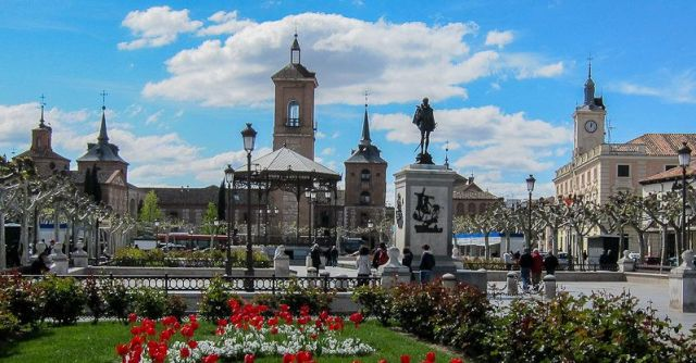 Plaza Cervantes, Alcalá de Henares.