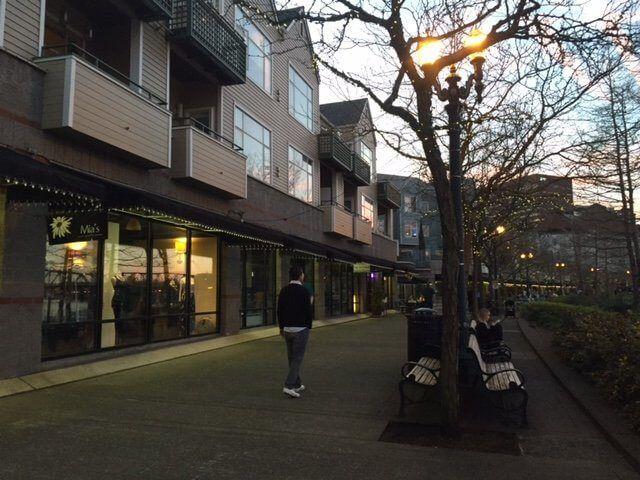 Caminando en Portland...