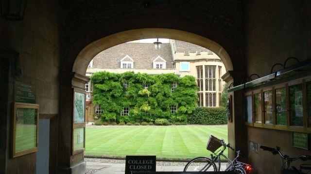 Wellcome to Cambridge
