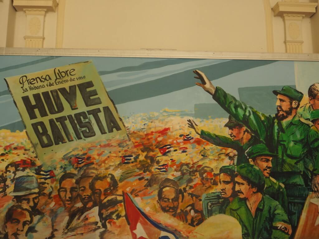 En el Museo de la Revolución, La Habana