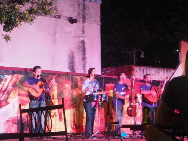 Casa de la música de Trinidad.