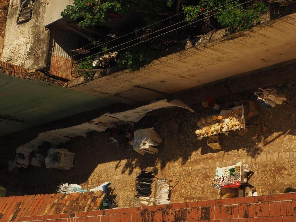 Mercado callejero de Trinidad