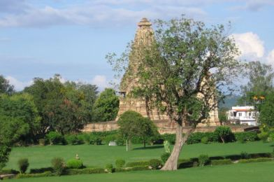 Khajuraho en la India.