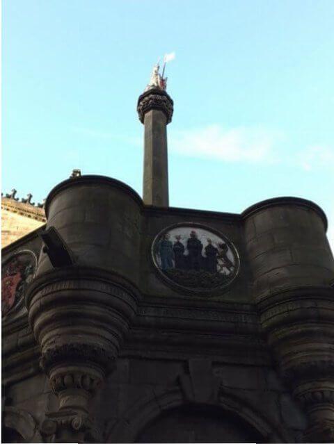 Lugar de ejecuciones en la Edad Media de Edimburgo.