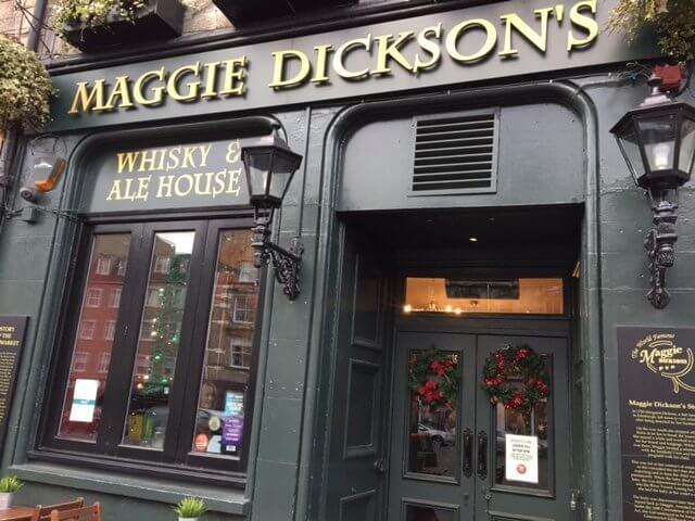 Pub de Maggie Dickson, Edimburgo