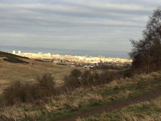 Arthur's Seat, Edimburgo.