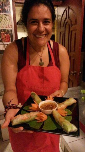 Ana, viajera y cocinera