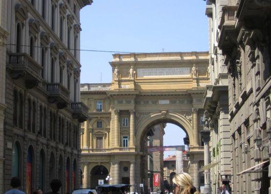 Plaza de la República, Florencia.