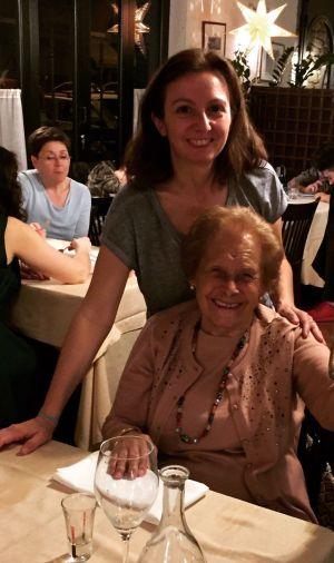 cenando con mamá, roseviaja