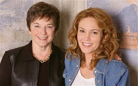 Frances Mayes y Diana Lane