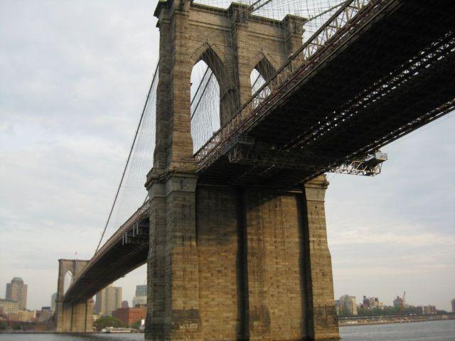 El puente de Brooklyn,