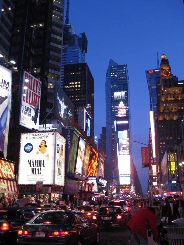 Times Square, Nueva York.
