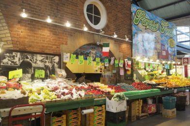 El Mercado de St. Lawrence en Toronto, Canadá.