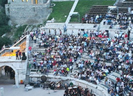 En un concierto de ópera en Plovdiv