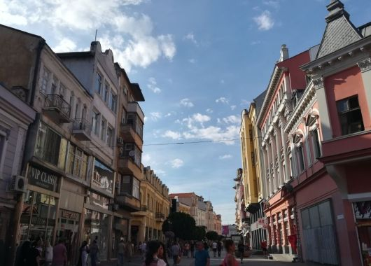 Calle Aleksandrovska, Plovdiv.