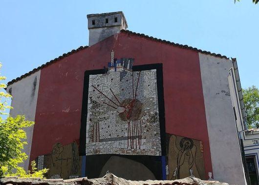 Plovdiv, parte moderna de la ciudad.
