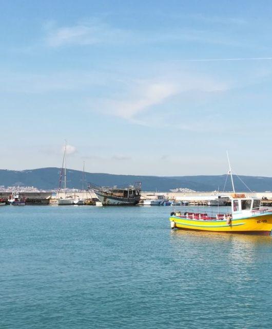 barcos de nesebar