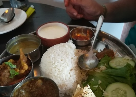 Gastronomía en Nepal