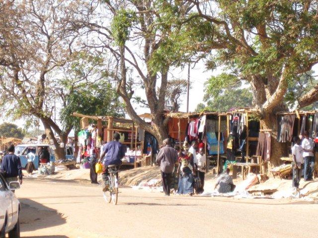Mercado de Mpika, Zambia