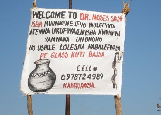 Curandero de Mpika, Zambia