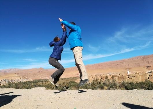 Camino de las gargantas del Todra, Marruecos