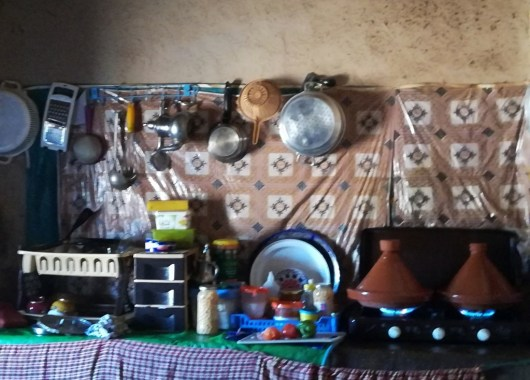 Curso de cocina bereber, Khamlia, Marruecos